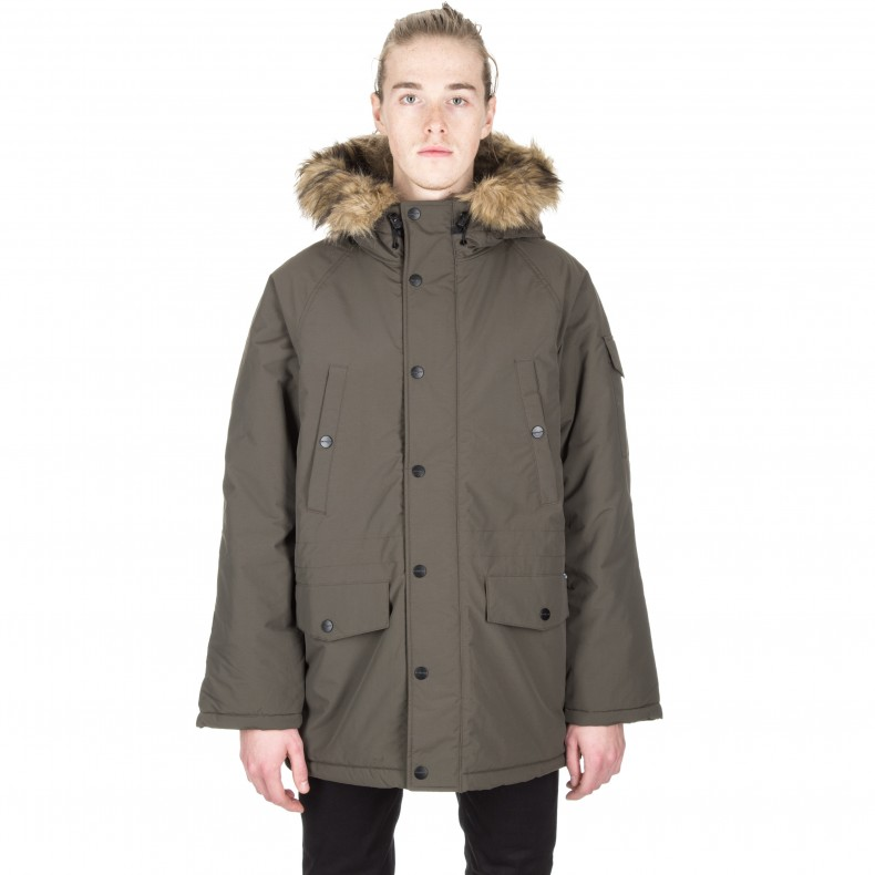 new products factory outlet best sell Carhartt Anchorage Parka (Cypress/Black) - Consortium