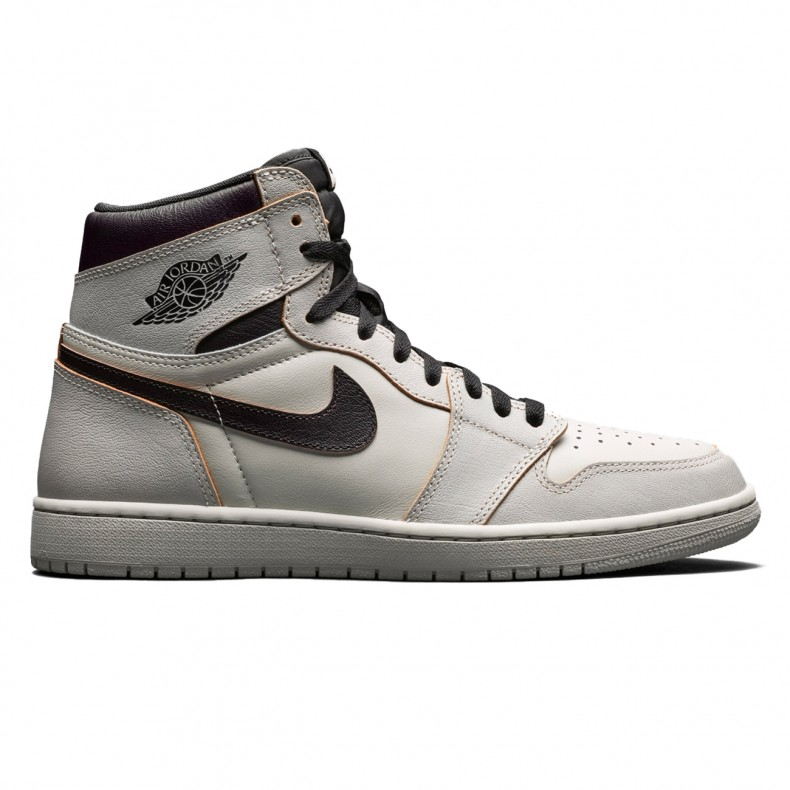 221140e54c5c9 Nike SB x Air Jordan 1 High OG 'Defiant' (Light Bone/Black-Crimson ...
