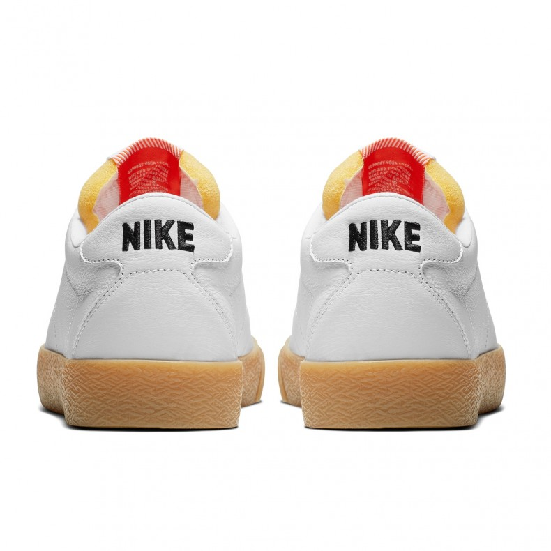 reputable site ffd81 af1f7 Nike SB Zoom Bruin Ultra ISO  Orange Label White Pack