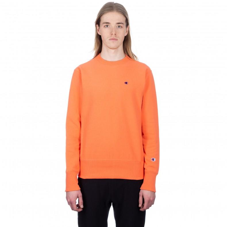 7dd7be2a7a2e Champion Reverse Weave Crew Neck Sweatshirt (Salmon) - Consortium.