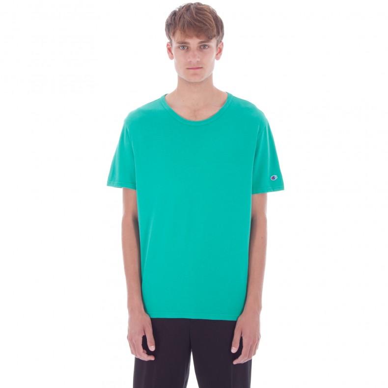 30e96e82 Champion Reverse Weave Crew Neck T-Shirt (Green) - Consortium.