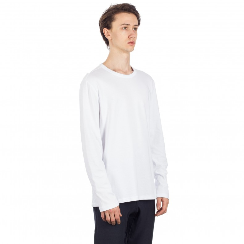 ce5104ff Champion Reverse Weave Long Sleeve T-Shirt (White) - Consortium.
