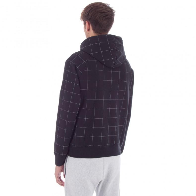 8b662766cacd Champion x Wood Wood Judd Pullover Hooded Sweatshirt (Black Check) -  Consortium.