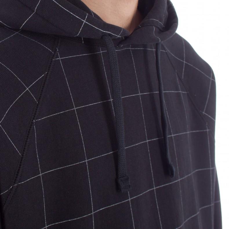 9e9315815db7 Champion x Wood Wood Judd Pullover Hooded Sweatshirt (Black Check ...