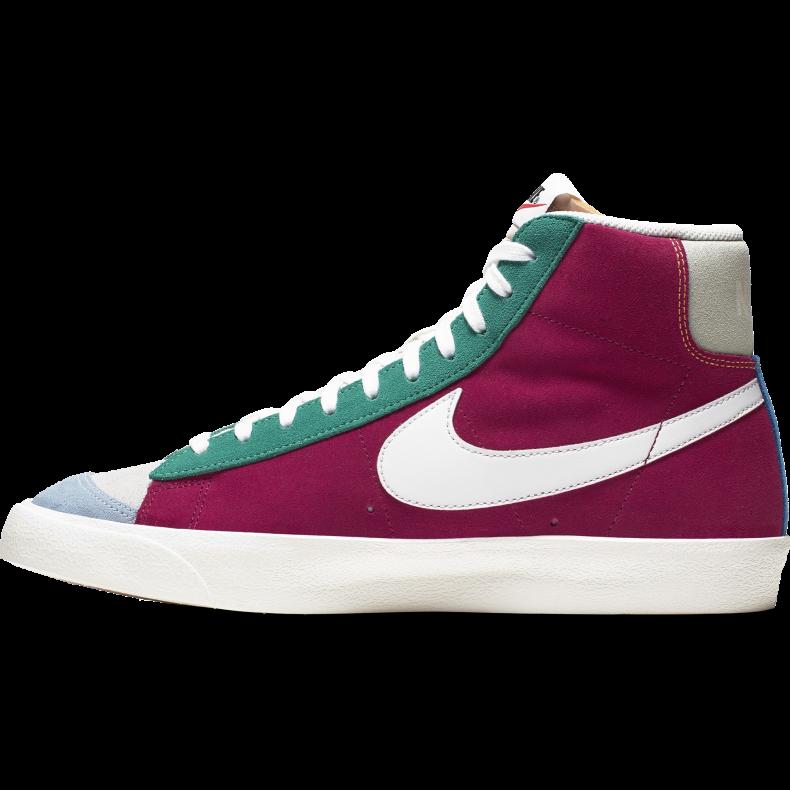 Nike Blazer Mid ´77 Vintage Suede Noble Red Kinetic Green Jade Aura CI1167 600