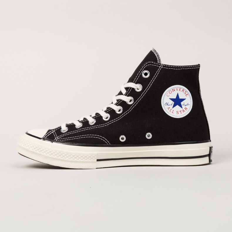 newest ccc16 aa5c1 Converse All Star Chuck Taylor 70 Hi (Black) - Consortium.