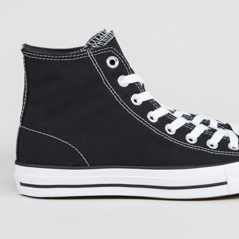 4e6ff0d3e21d0f Converse Cons CTAS Pro Hi (Black Black White) - Consortium.