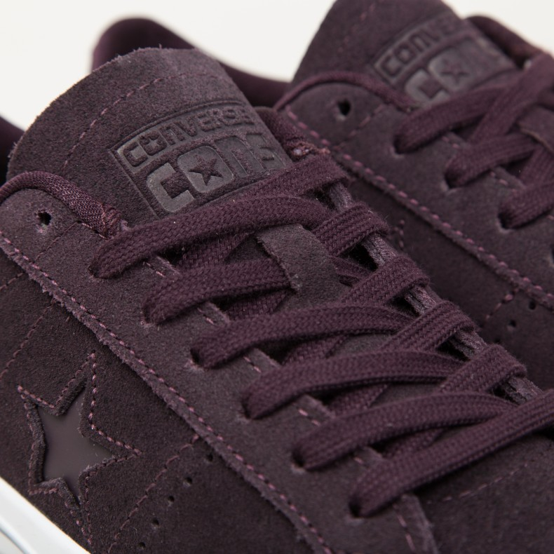 685ff89f25eede Converse Cons One Star Pro OX (Black Cherry Black Cherry White) -  Consortium.