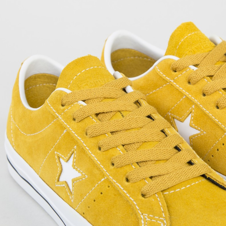 d5b0044eaf6903 Converse Cons One Star Pro OX (Mineral Yellow White Black) - Consortium.