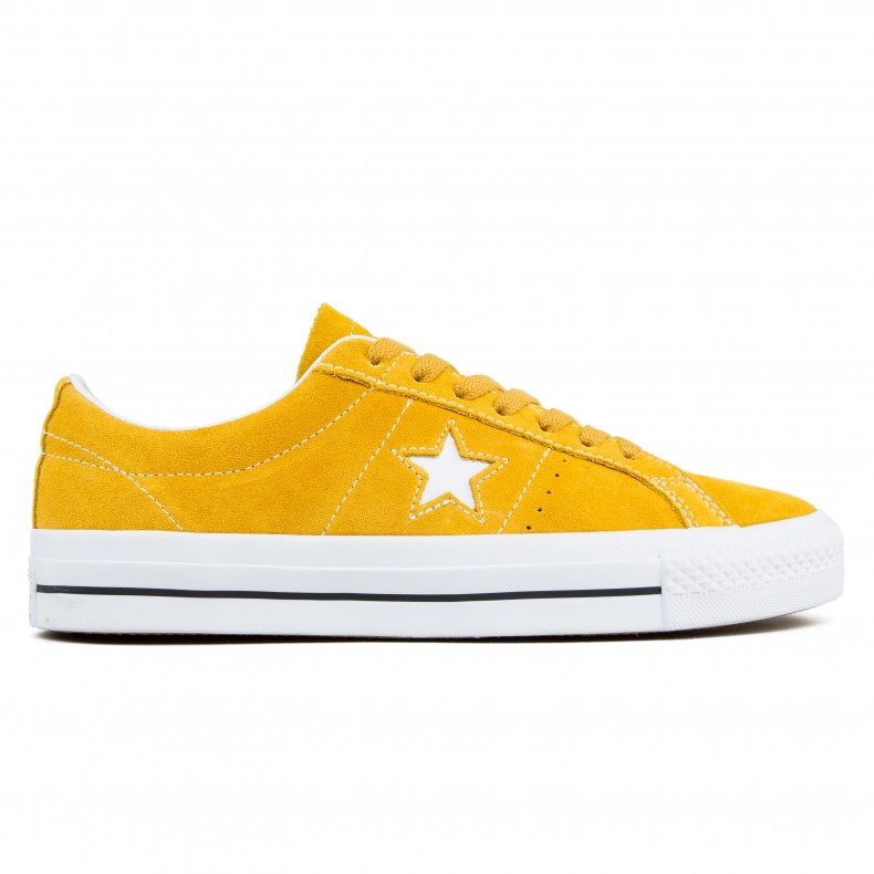 Converse Cons One Star Pro OX (Mineral Yellow White Black) - Consortium. 4c2734be9