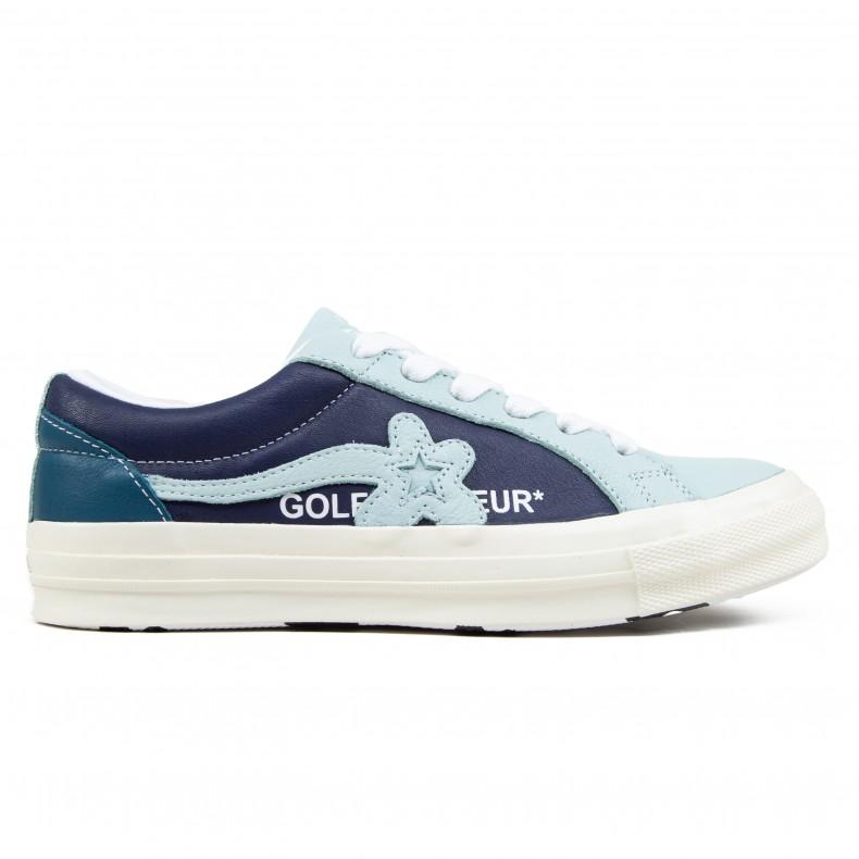 61e0593b60 Converse x Golf Le Fleur One Star OX 'Industrial Pack' (Barely Blue/Patriot  Blue/Egret) - 164024c - Consortium