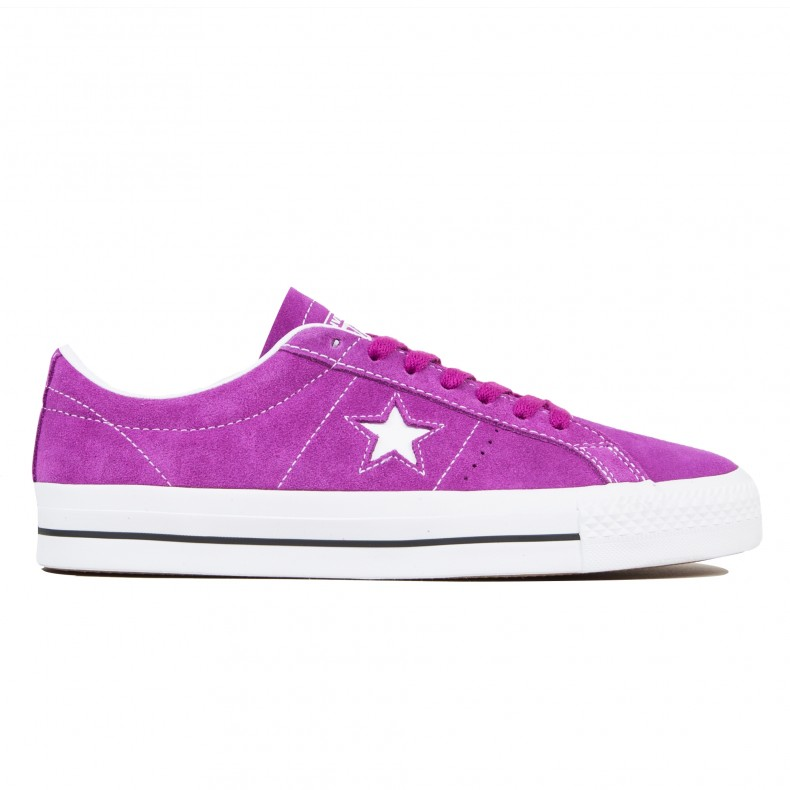 CONVERSE CONS ONE STAR PRO OX ICON VIOLET PURPLE 161523C SIZE 12 NEW NO BOX