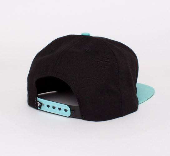 bf5b89b6 Diamond Supply Co. Brilliant Snapback Cap (Black/White/Diamond Blue ...