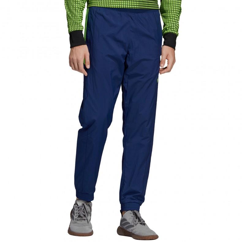 dbe51c6506 adidas Originals Flamestrike Woven Track Pant (Dark Blue)