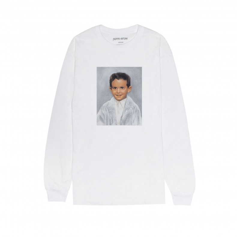 7a0449a2 Fucking Awesome Dylan Long Sleeve T-Shirt (White) - FA0299 - Consortium.