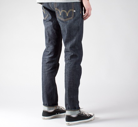 79b065e7 Edwin ED-55 Red Selvage 14oz (Blue Unwashed) - Consortium