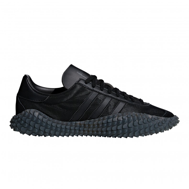 low cost 4d023 687dc adidas Originals Country x Kamanda Never Made Triple Black Pack (Core  BlackUtility BlackSolar Red) - EE3642 - Consortium.
