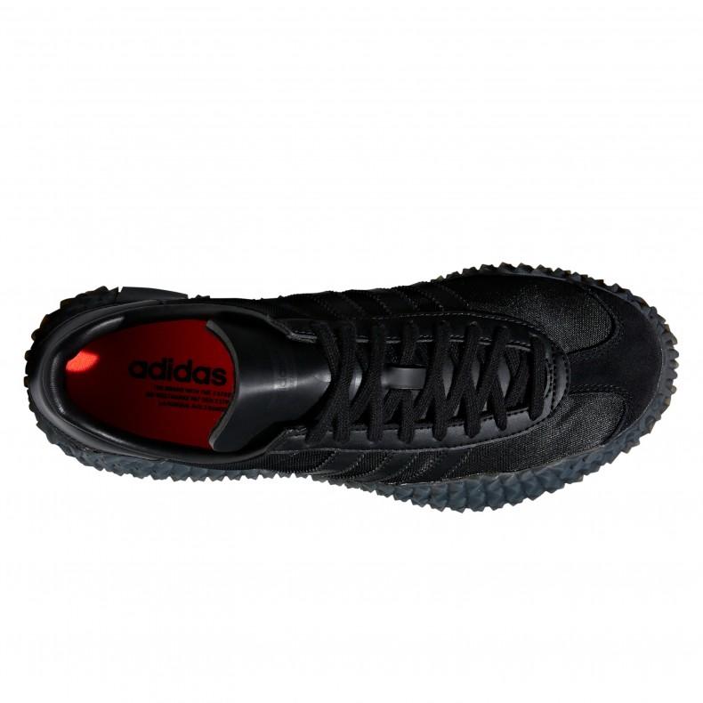 watch 3af28 97e2e adidas Originals Country x Kamanda Never Made Triple Black Pack. (Core  BlackUtility BlackSolar ...