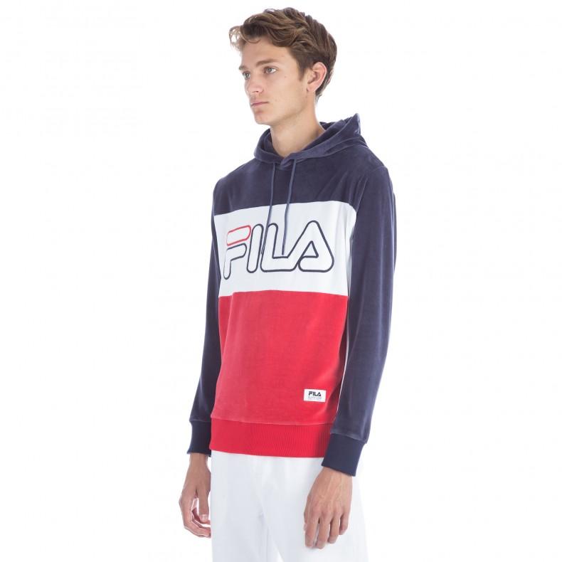 26e41de6414a FILA Black Line Baggio Hooded Sweatshirt (Peacoat) - Consortium.