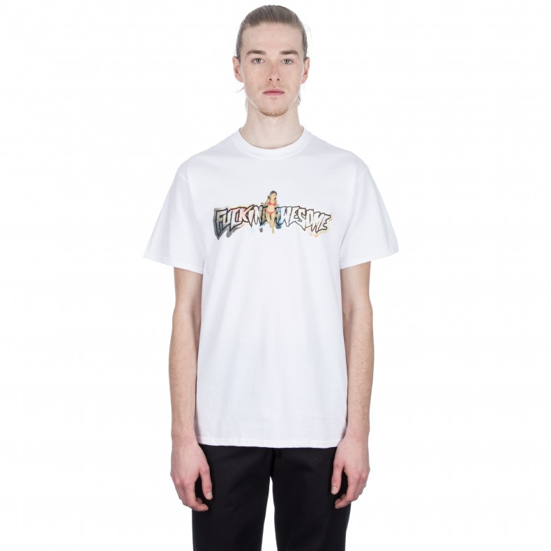 f289b252 Fucking Awesome Plastic Woman T-Shirt (White)