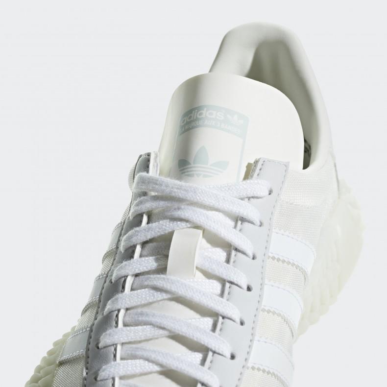 adidas Country x Kamanda Never Made Triple White G27825 | 43einhalb Sneaker Store