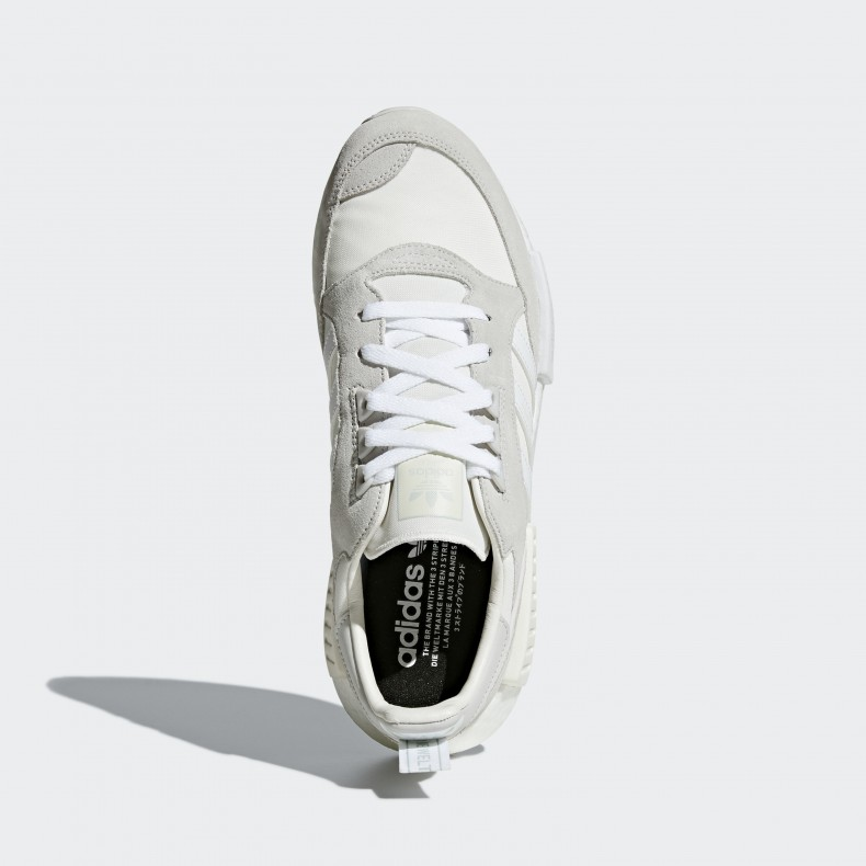 on sale 8af93 c209a adidas Originals Boston Super x R1 'Never Made Triple White Pack' (Cloud  White/Footwear White/Grey One)