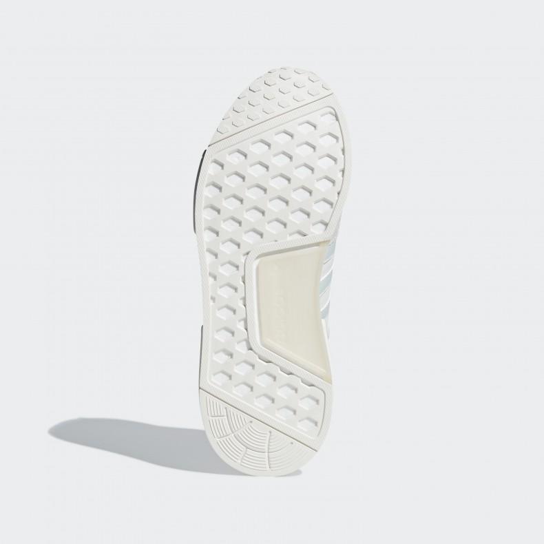 4956d56c7e794 adidas Originals Micropacer x NMD R1  Never Made Triple White Pack ...