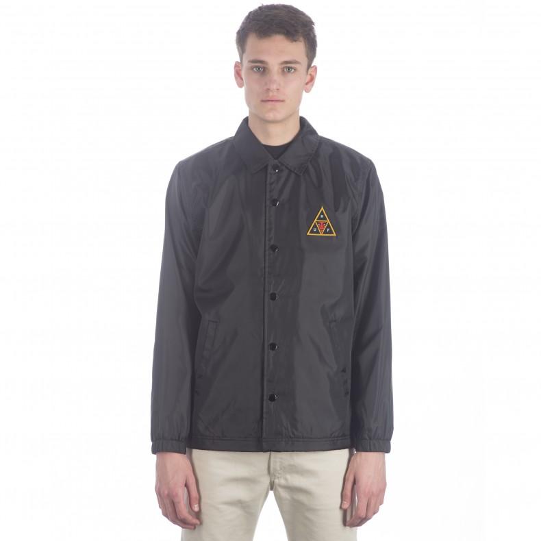 Huf X Obey Coaches Jacket Black Consortium