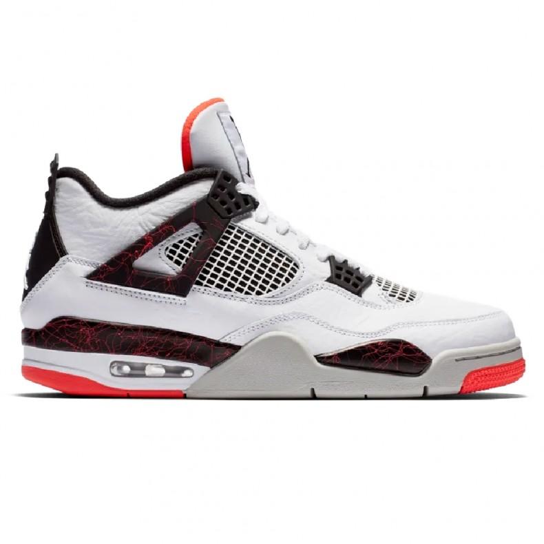 new products 1e04d 052b8 Jordan Brand Nike Air Jordan 4 Retro OG 'Pale Citron' (White/Black-Bright  Crimson)