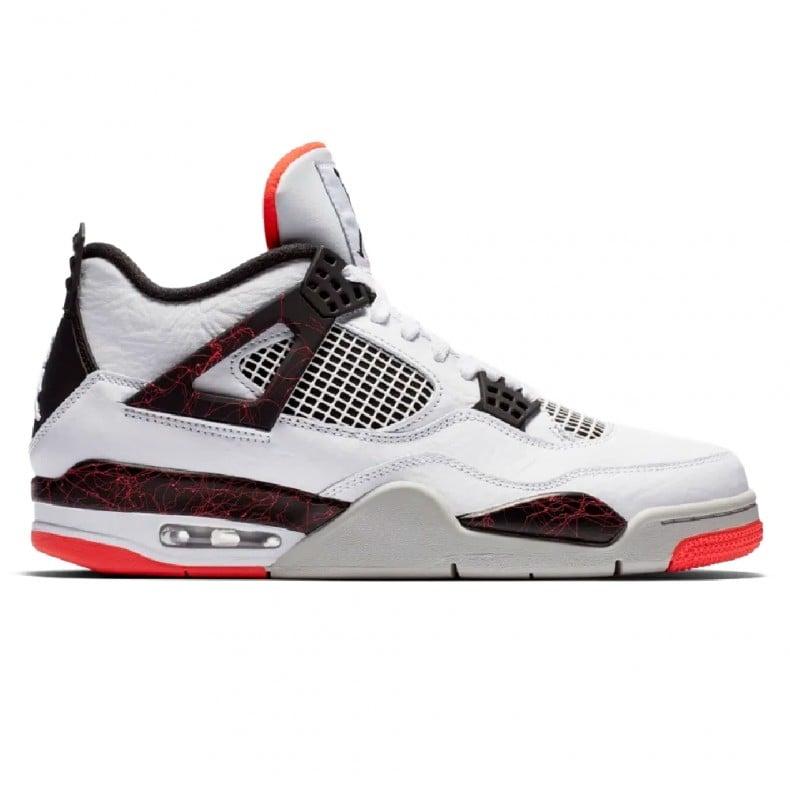 new products 0975f eca8d Jordan Brand Nike Air Jordan 4 Retro OG 'Pale Citron' (White/Black-Bright  Crimson)