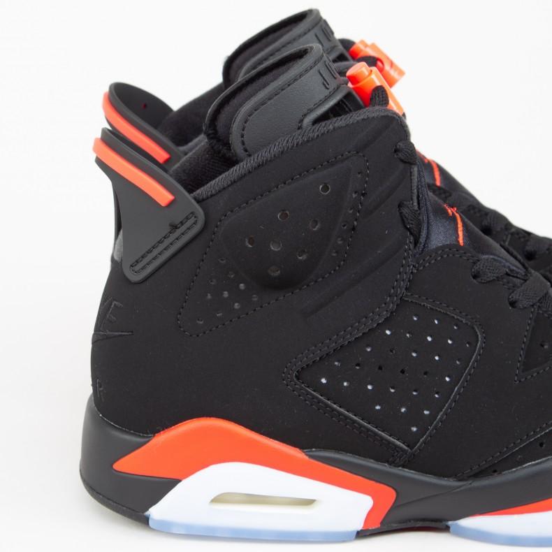 san francisco 53930 4a4d8 Jordan Brand Nike Air Jordan 6 Retro OG 'Infrared' (Black ...
