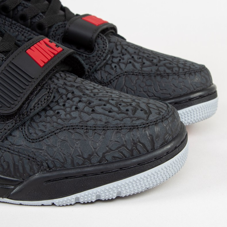sale retailer a589f e6d02 Jordan Brand Nike Air Jordan Legacy 312  Elephant Print . (Black Black-Varsity  Red)