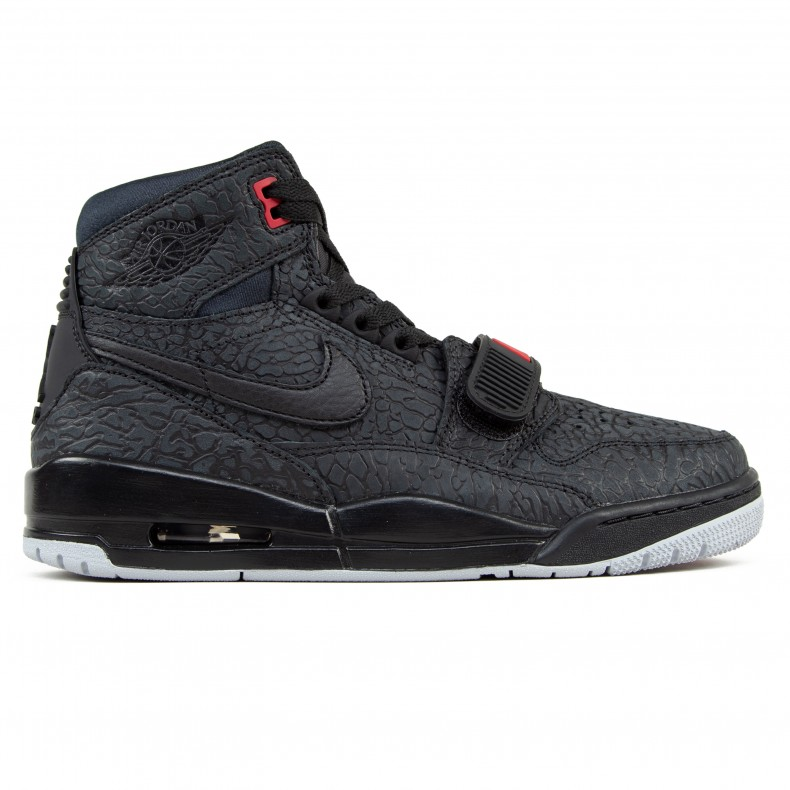 64c5b81d9a981 Jordan Brand Nike Air Jordan Legacy 312 'Elephant Print'  (Black/Black-Varsity Red)