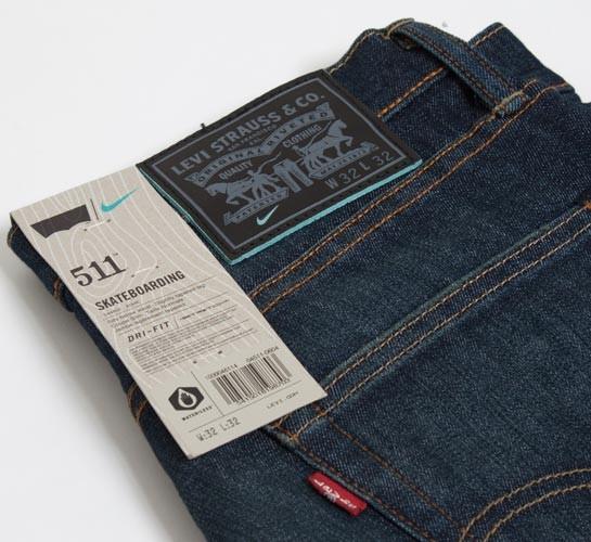 pretty nice 0ab9d a1710 Levi s X Nike SB 511 Skateboarding Jeans (Kato) - Consortium.