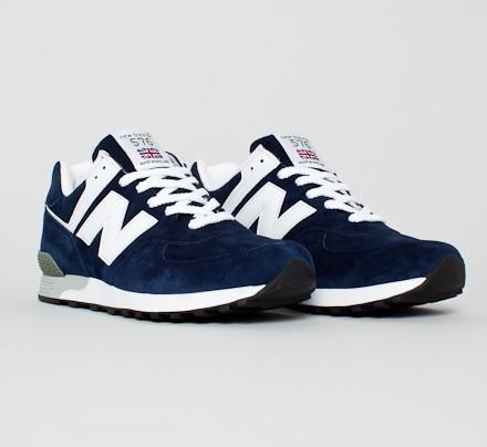 new balance 576 navy white