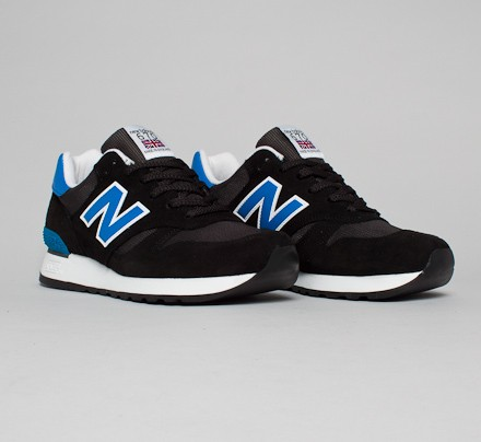 new balance black blue
