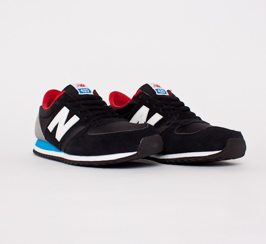 new balance 420 blue and black