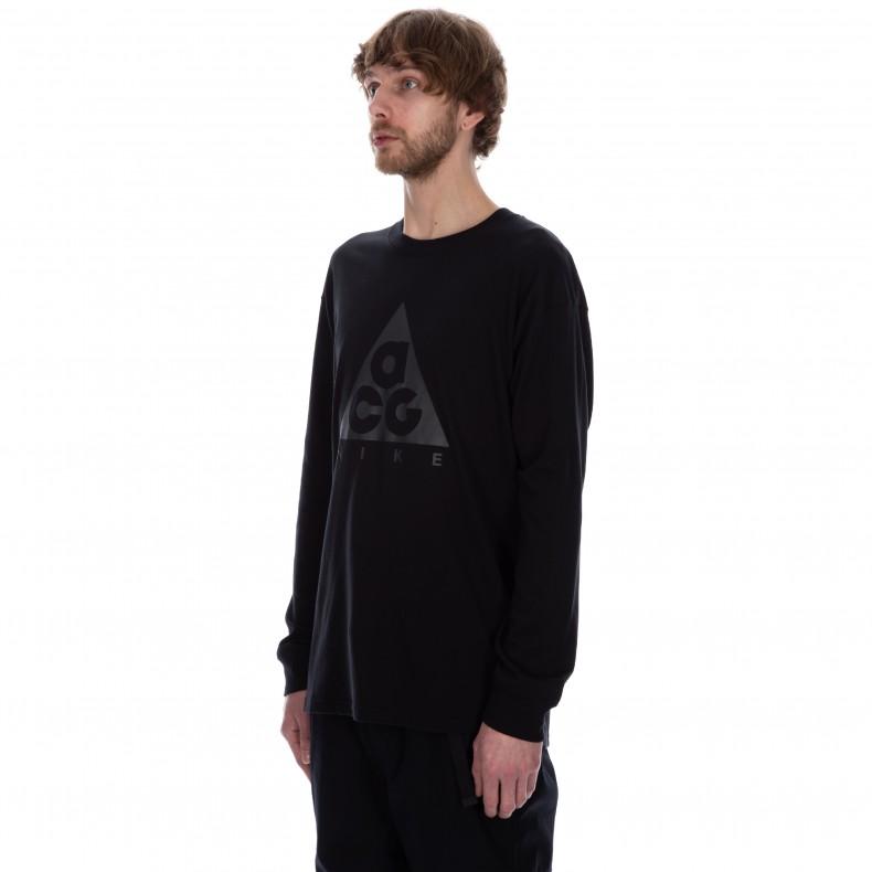 1ab993283 Nike ACG NRG Logo Long Sleeve T-Shirt (Black/Anthracite) - BQ3457 ...