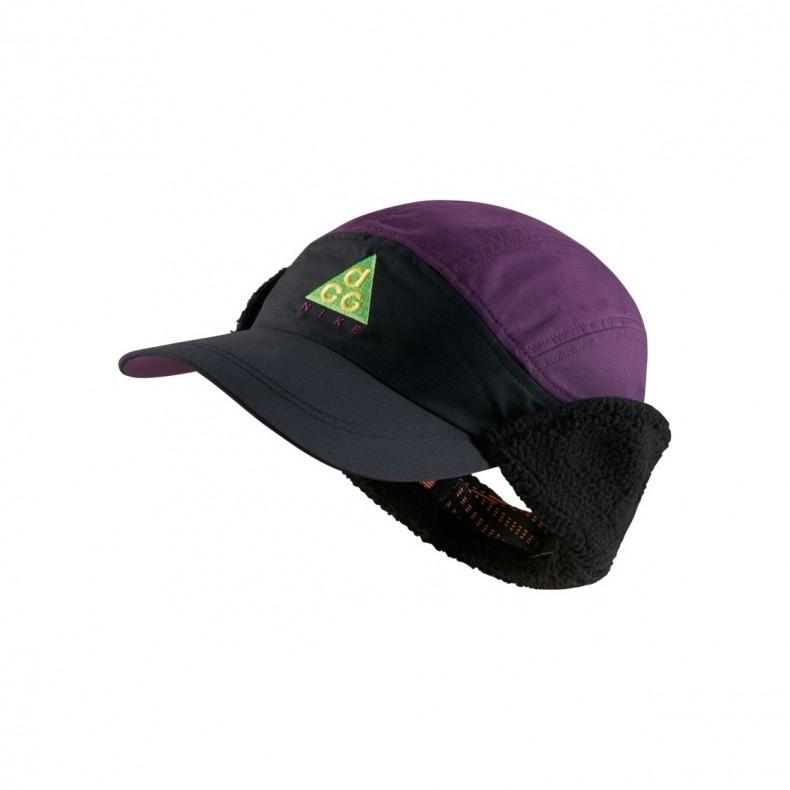 045faf4752c Nike ACG Tailwind Sherpa Cap (Black Night Purple Black) - AR0497-011 -  Consortium.