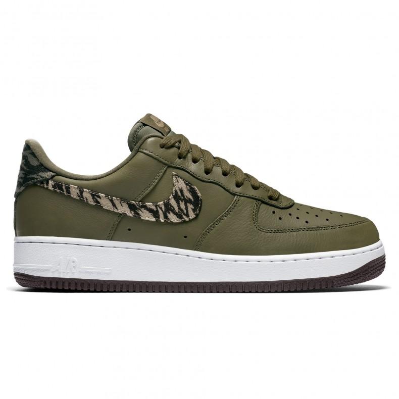 e39d2851ab Nike Air Force 1 AOP Premium (Medium Olive/Khaki-Velvet Brown-White) -  Consortium