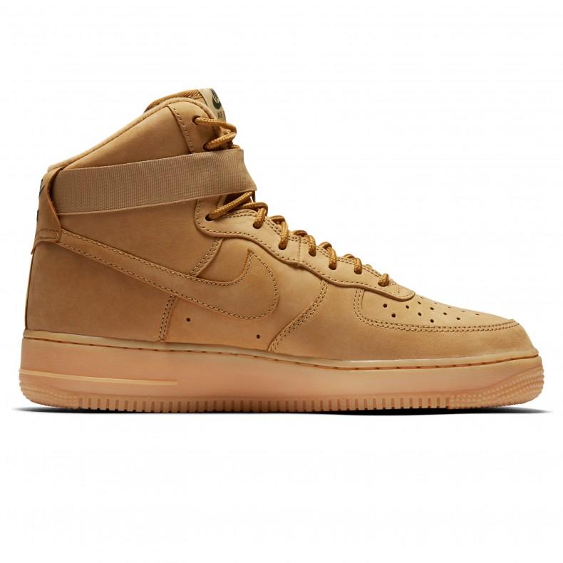 de8c4873c595 Nike Air Force 1 High  07 LV8 WB  Flax . (Flax Flax-Outdoor Green-Gum ...
