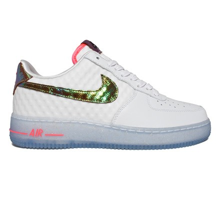 NIke Air Force 1 Low Comfort Premium 'Hyper Punch' QS (White