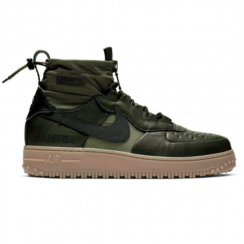 best choice watch amazing selection Nike Air Force 1 Winter GORE-TEX (Sequoia/Black-Medium Olive-Gum Medium  Brown)