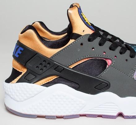 Nike Air Huarache Run Sd Shoes Black Persian Violet