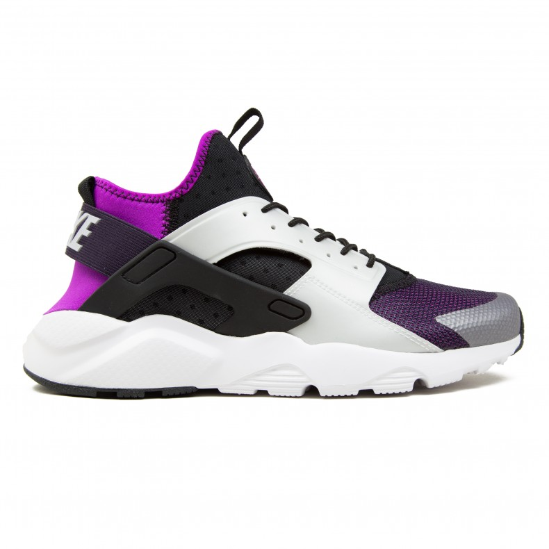 pretty nice 7b7ce dfa1a Nike Air Huarache Run Ultra (Black Wolf Grey-Hyper Volt-Purple Dynasty) -  Consortium.