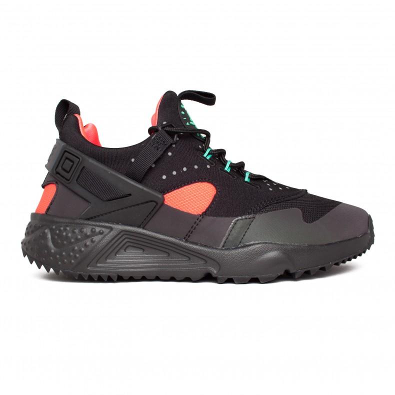 be623bf3cd2c Nike Air Huarache Utility Premium (Black Black-Bright Crimson) - Consortium.