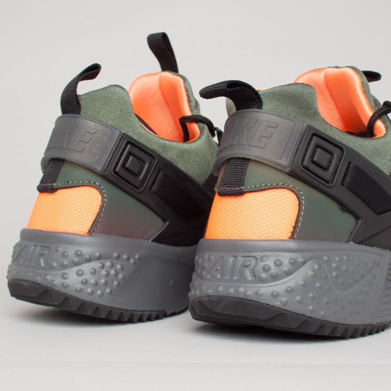 promo code ee44f 903b1 ... Nike Air Huarache Utility Premium (Carbon Green Black-Total Orange-  Anthracite) ...