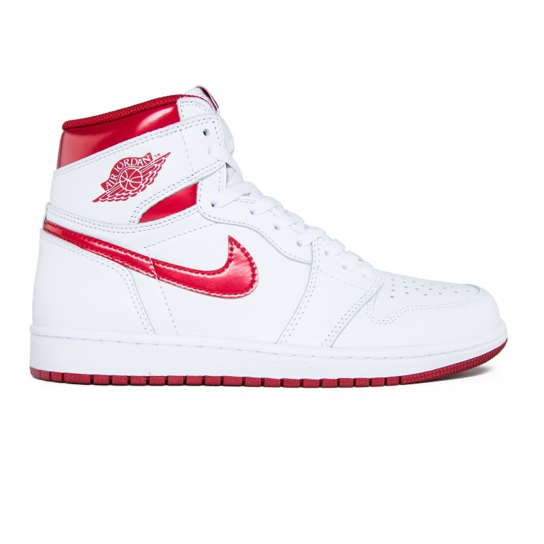 Nike Air Jordan 1 Retro High OG (White Varsity Red) - Consortium. 7c06c129f