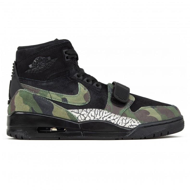 online retailer 97a11 493a5 Jordan Brand Nike Air Jordan Legacy 312  Camo Green  (Black Camo  Green-Black) - AV3922-003 - Consortium.