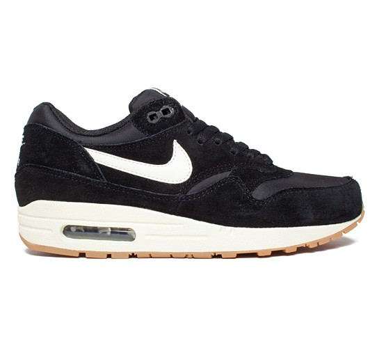 sneakers for cheap 407ef 46502 Nike Air Max 1 Essential (Black Sail-Black-Gum Light Brown) - Consortium